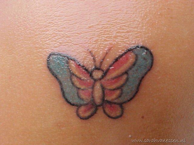 de tattoo van dichtbij